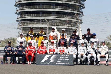 F1 2010 Drivers