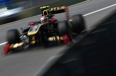 Lotus Renault GP In Brazil (Courtesy: LRGP)