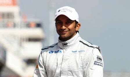 Narain Karthikeyan (Courtesy: Narain's Website)