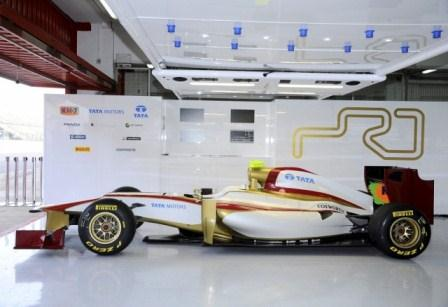 TATA and Hispania Racing Team (Courtesy: HRT Website)