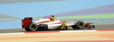 Narain Karthikeyan - 2012 Bahrain GP (courtesy: HRT)