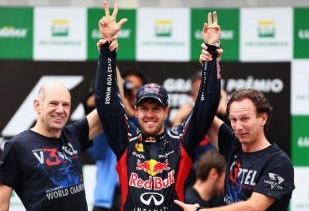 2012 Formula1 World Champion - Sebastian Vettel (Courtesy: Red Bull Racing)
