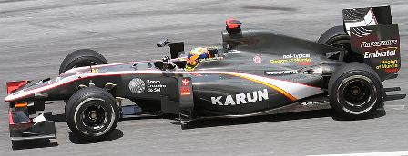 Karun Chandhok Raced For HRT In 2010 (Courtesy: Wikipedia)