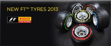 2013 Pirelli F1 Tyres (Courtesy: Pirelli F1)