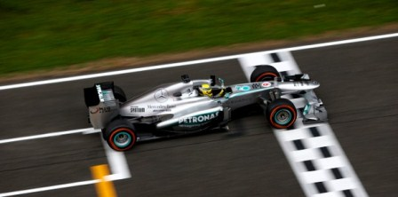 Nico Rosberg - 2013 Spanish GP (Courtesy: Mercedes)