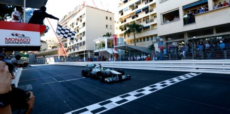 Nico Rosberg - 2013 Monaco Grand Prix