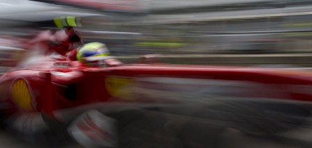 Felipe Massa at the 2013 German GP (Courtesy: Ferrari)