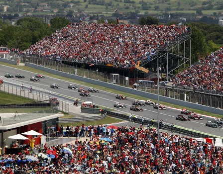 2014 Spanish Grand Prix (courtesy: Sky Sports)