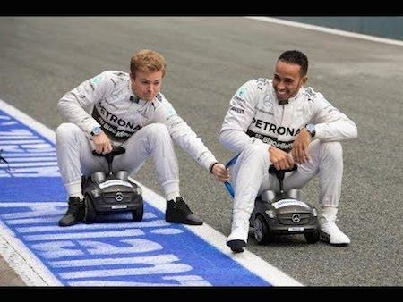 Nico Rosberg vs. Lewis Hamilton (2014 F1 Season)
