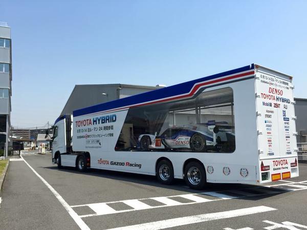 WEC Toyota Hybrid - Transparent Transporter
