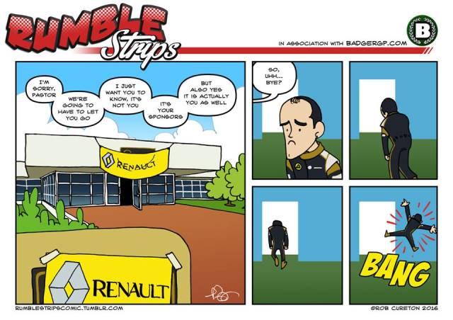 Pastor Maldonado Exits Renault