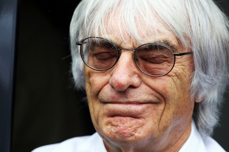 Bernie Ecclestone's 'Ecc-xit' from Formula 1 (courtesy: AutoRacing1)