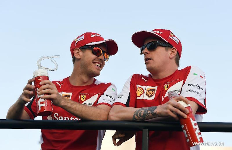 Ferrari Will Be Forced To Re-Sign Kimi Raikkonen (courtesy: Xinhuanet)