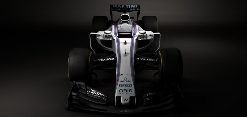 Williams F1 Team - W40 (courtesy: Williams F1 Team)