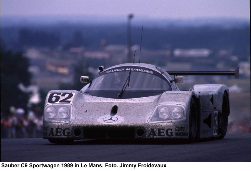 Sauber Motorsport In the 1989 24 Hours of Le Mans